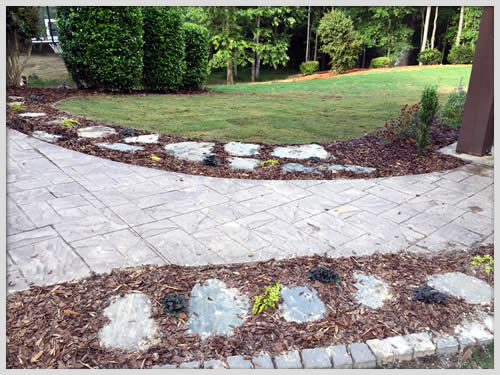 Landscaping Services and Installation by a Paulding, Georgia Landscaper